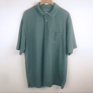 GRAND SLAM Polo Short Sleeve Golf Shirt Green